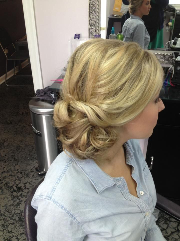 1000 Images About Side Bun Updos On Pinterest