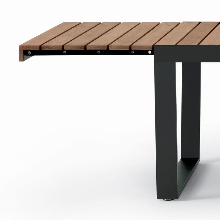 awesome table de jardin extensible petite largeur images ForTable Extensible Exterieur
