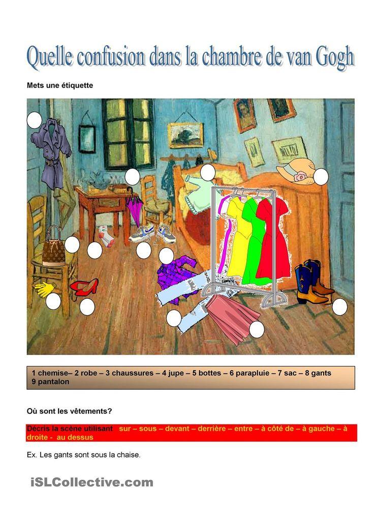 194 best images about l oral on pinterest hidden pictures un and student c - La chambre de van gogh ...