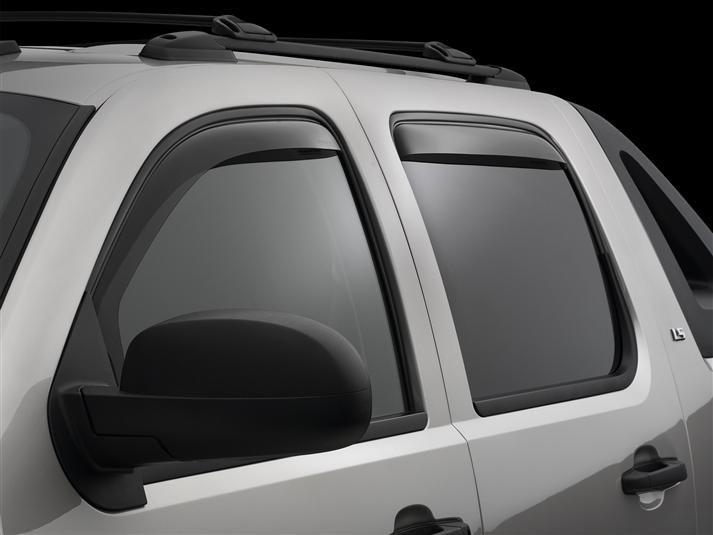 2012 Chevrolet Avalanche Rain Guards Side Window Deflectors For Cars Trucks Suvs And Minivans Weathertech In 2020 Window Deflectors Mini Van Side Window