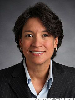 26. Deirdre Connelly  President, North America Pharmaceuticals  GlaxoSmithKline  2011 rank: 25  Age: 52  Connelly's division accounts for about one-third of GSK's revenue, but sales fell almost 5%, to just over 11 billion. Earlier this year she also became CEO of Human Genome Sciences, a promising biotech firm that GSK acquired for $billion.