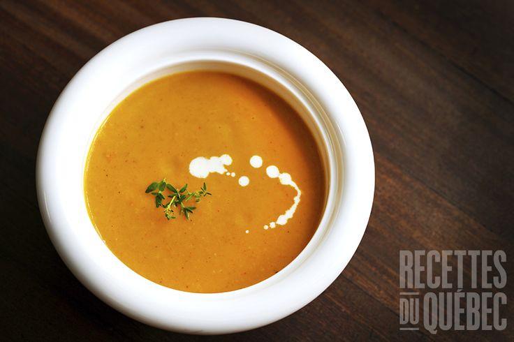 #Soupe aux carottes et gingembre à la #mijoteuse #recettesduqc