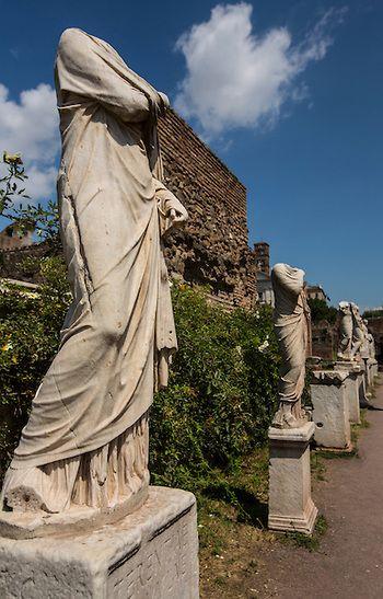 Ancient Roman Statues - Rome, Italy www.jackaiello.com