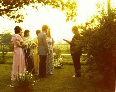 small wedding in your backyard