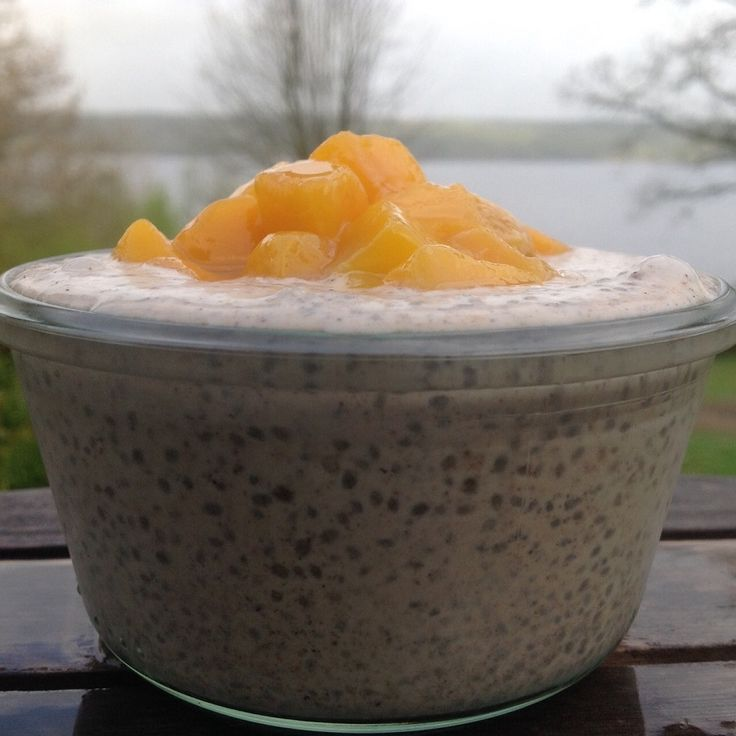 Favorit Chiapudding