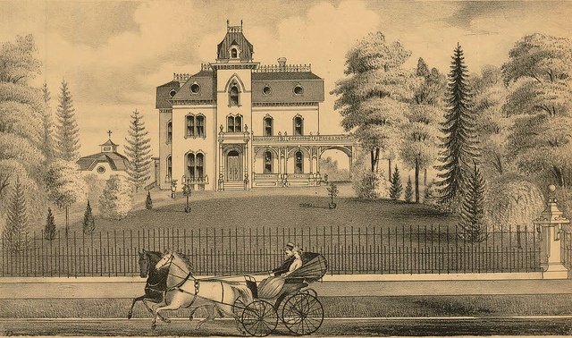 Residence of T.S. Beckwith, Esquire