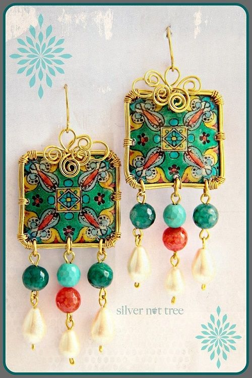 Amazing Recycled Plastic Bottle Art Jewelry by Silver Nut Tree - The Beading Gem's Journal