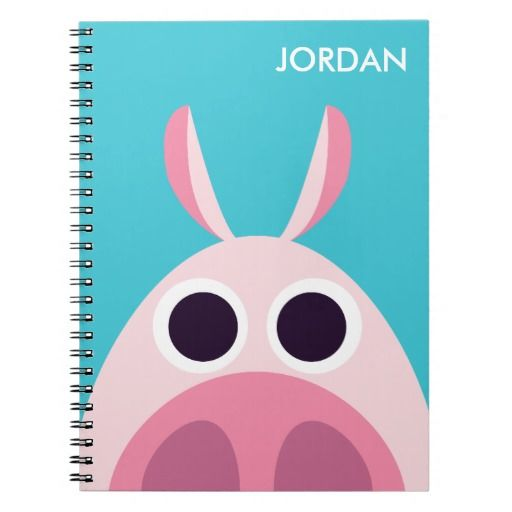 Leary the Pig. Regalo, gift. #cuaderno #notebook