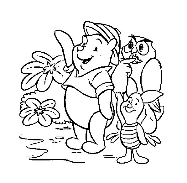 Beautiful Coloriage Winnie 7 Differences Adornment - Coloring Pages ...