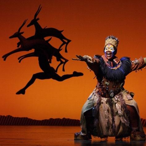 Disney's The Lion King - Lyceum Theatre London - The Lion King tickets - Rafiki
