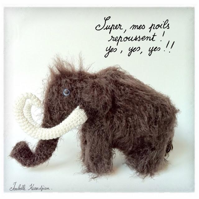 Isabelle Kessedjian: the serial crocheteuse n° 111 : Le mammouth.
