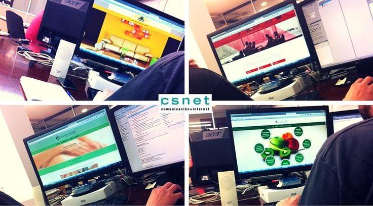 #CSnet #EquipoCSnet #Trabajo #PáginaWeb #DiseñoWeb #PYMES #Online