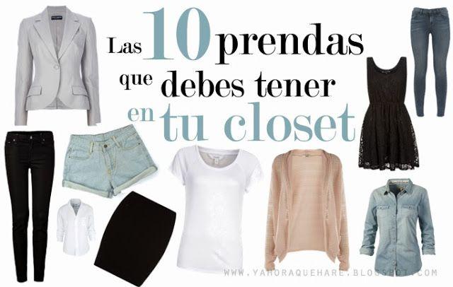 Y. A. Q. - Blog de moda, inspiración y tendencias: [Y ahora cómo] Las 10 prendas básicas que debes tener en tu closet