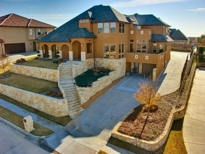 Love the stairs leasing to the home!