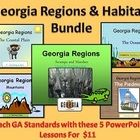 $11.00 Georgia Habitats PowerPoint MEGA BUNDLE....Teach all the Georgia regions with these 5 highly engaging PowerPoints! Use with your interactive board to enhance the features of each lesson! They are fun and teach the Georgia standards for 2nd and 3rd grade.