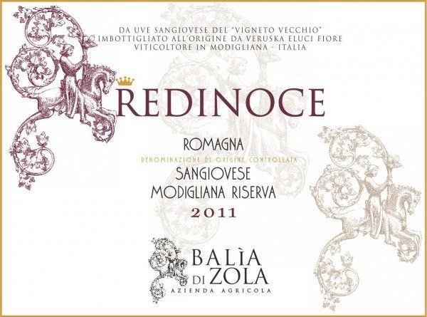 Redinoce Romagna DOC Sangiovese Modigliana Riserva