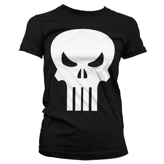 Punisher Skull Koszulka Damska