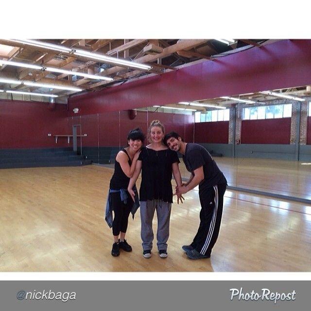 Choreographer Mandy Moore w/ Mike Riccio