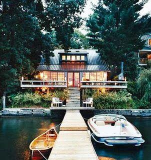 Show Your SPARK Blog: Property Envy Thom Filicia's Lake House