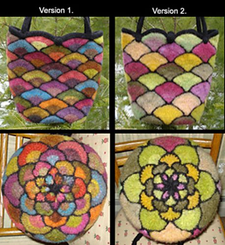Ravelry: tl208's Stained Glass Bag