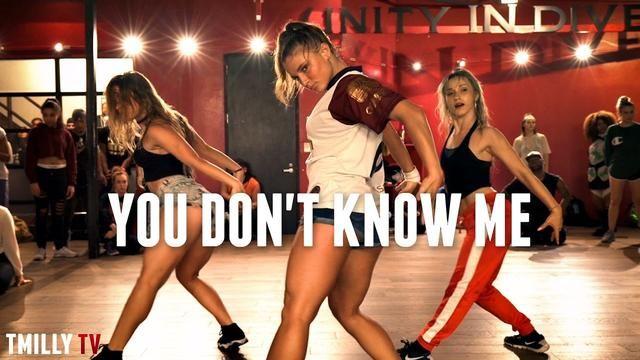 Jax Jones - You Don't Know Me ft RAYE - Choreography by Eden Shabtai - #TMillyTV