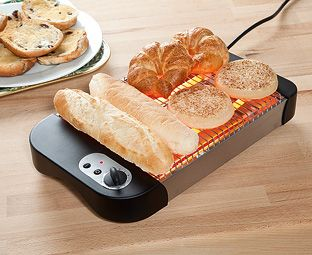 Expert Verdict Flat Toaster Just like those you see in delis and at hotel buffets, this panini toaster is the perfect solution for all those rolls and breads that are too bulky for a standard toaster. Two powerful quartz heating http://www.MightGet.com/january-2017-11/expert-verdict-flat-toaster.asp