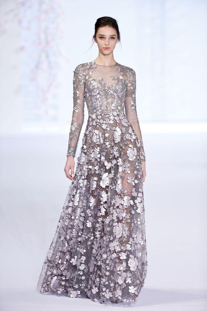 Ralph & Russo Spring 2016 Couture: Helen Mirren