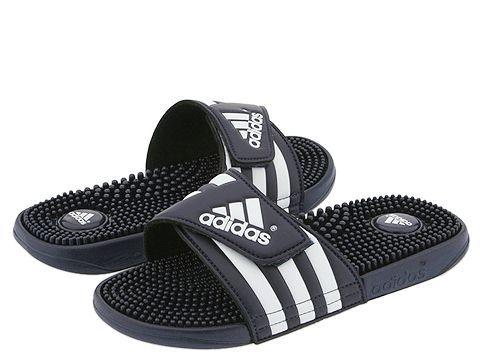 adidas adissage Black/White - Zappos.com Free Shipping BOTH Ways