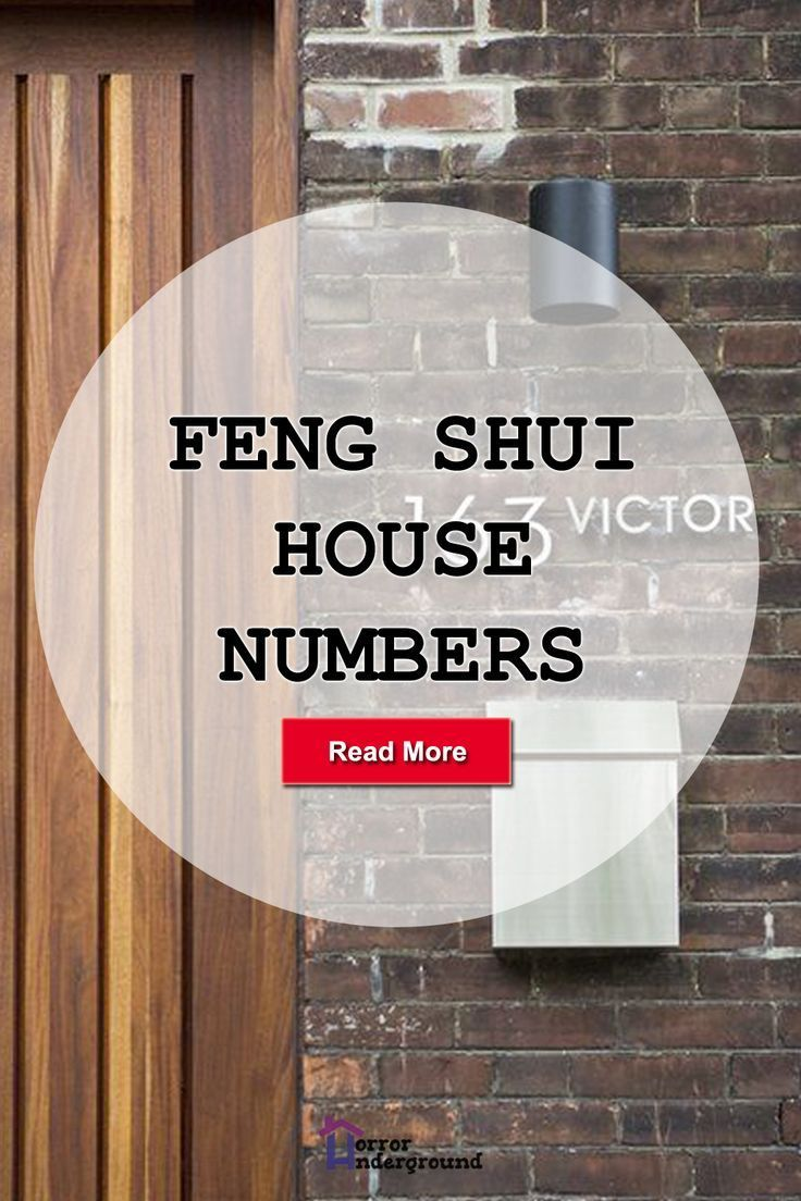 Feng Shui House Numbers in 2020 Feng shui house, Feng