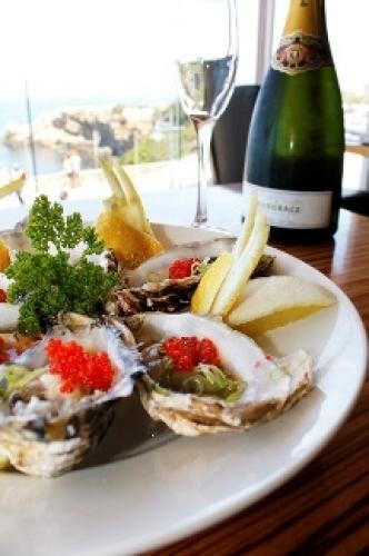 Oysters and Bubbly