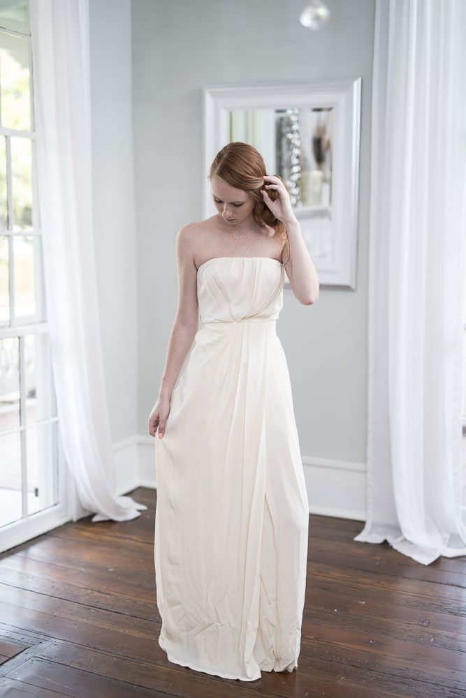 renting designer wedding dresses. new thakoon - strapless draped gown rent this gorgeous for just $400 (or · beach wedding dressesdesigner renting designer dresses