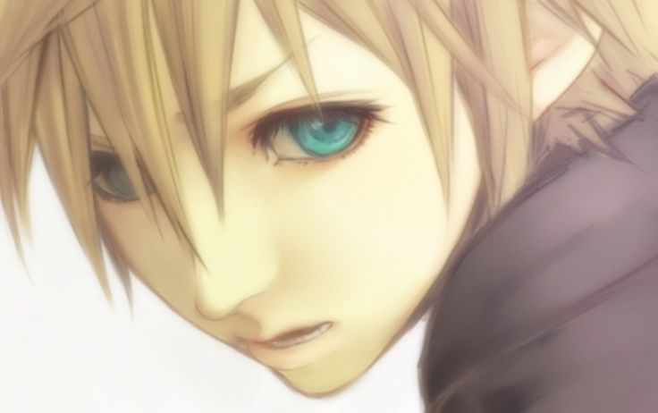 Roxas. Or is it Ventus? Tough to say. It even could be Sora with slightly lighter hair.