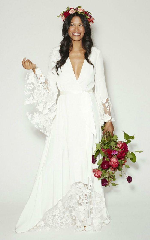 ▷ 1001 + ideas de vestidos ibicencos que te van a encantar | novias
