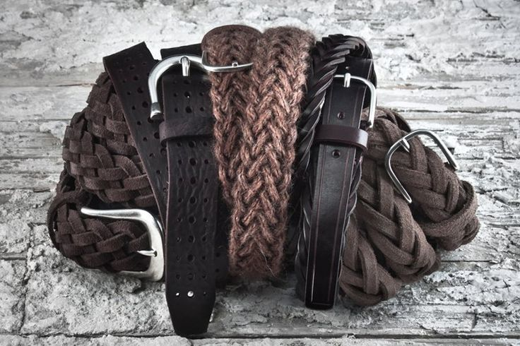 #AdrianoMeneghetti The #RUGGEDCollection #belts #Greenwhiteredbrand