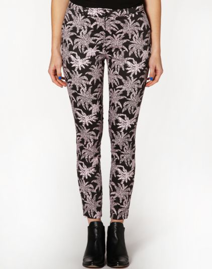 The palms printed pant - Glassons
