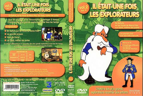 il etait une fois les explorateurs - Dvd Volume 02