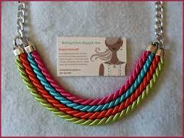 Αποτέλεσμα εικόνας για collares con cordones