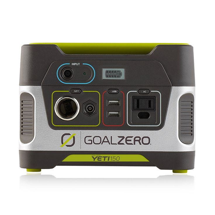 Perfect for emergencies, camping or wherever you need power, this handy solar generator by Goal Zero is a plug-and-play, silent and fume-free device.