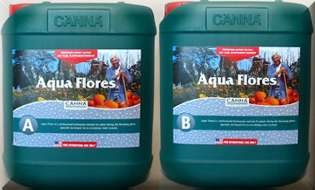 Canna Aqua Flores A + B 5 liter combo This is a combo pack of Canna Aqua Flores A + B in 5 liter jugs. It is much more economical in 5 liter jugs than 1 liter jugs and with the combo pack you get both A+B. #canadianwholesalehydroponics
