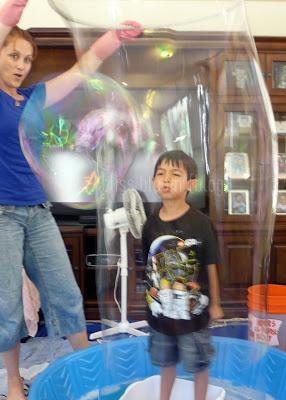 Bubble Birthday Party via bliss bloom blog