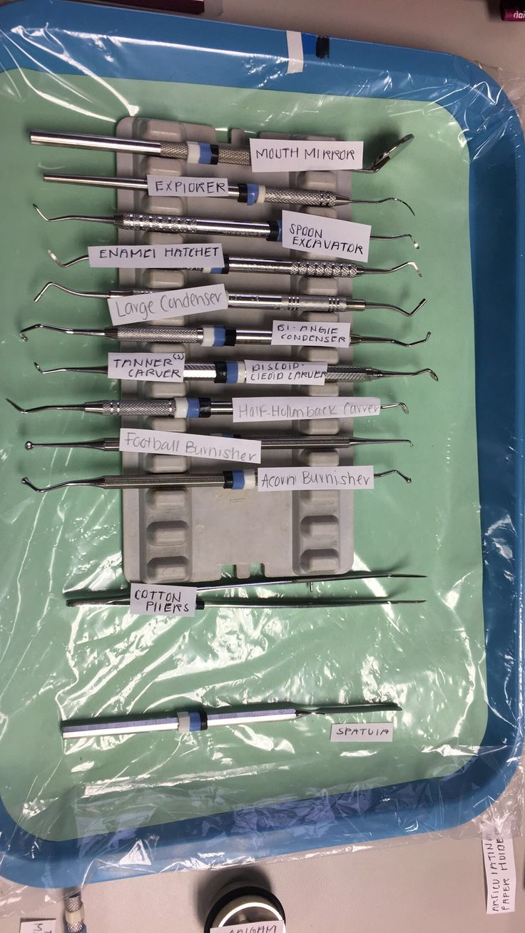 Amalgam Tray Set Up.   Dental Assistant, DA, Dental Asst., Tray Set ups, Dental Office, Student, Dental Assisting Training