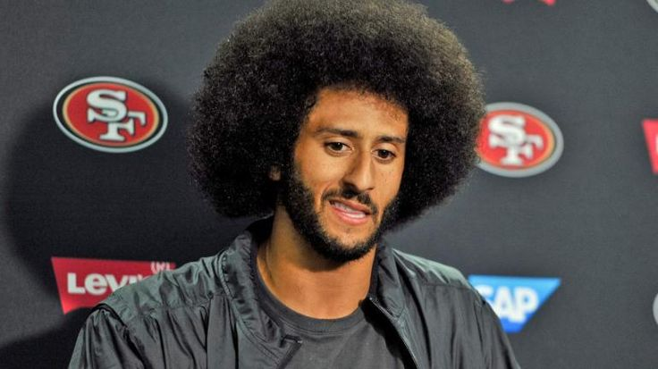 In the past week Colin Kaepernick has been in the news for not standing up during the San Fransisco 49ers preseason football game.This has caused a controversy within the sports world whether players should have to stand or not. This controversy has boosted Colin Kapernicks jersey sales in the last week. He now has the highest purchased jersey of the season. -Kajsa N