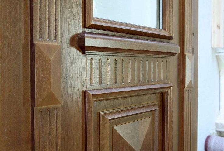 detale drzwi rekonstruowanych