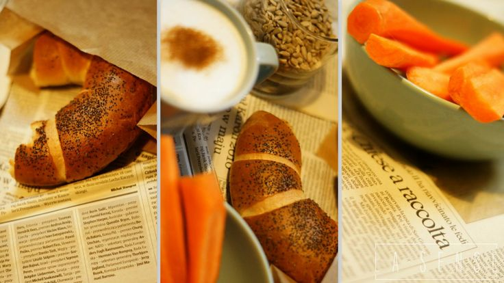 coffee#croissant#carrots#breakfast