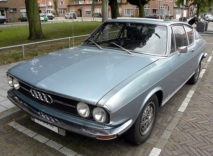Audi 100 Coupe S Automatic from 1974