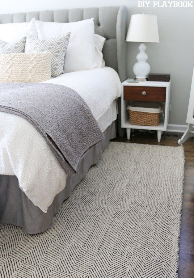 A New Rug for the Master Bedroom - DIY Playbook