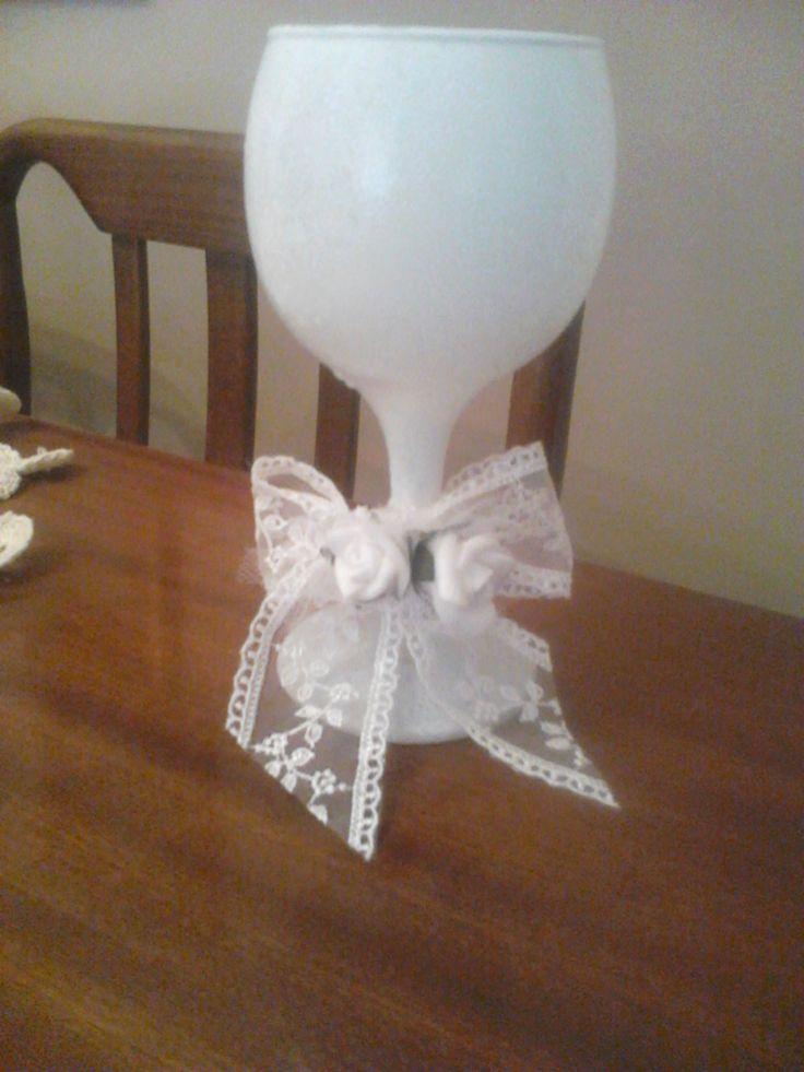 White glass for Sofia's Wedding!!!