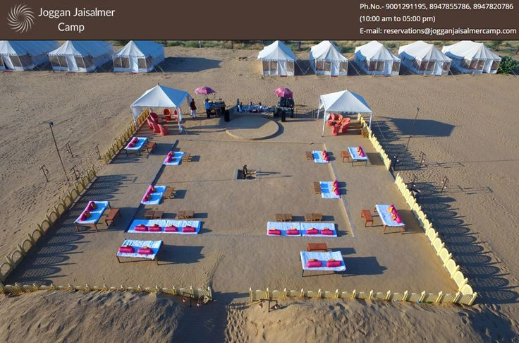 One of the best camping sights of Thar Desert the luxurious Joggan Jaisalmer. All-inclusive resort in Sam sand dunes where you can enjoy the Rajasthani cuisine, Folk http://goo.gl/fWlLbo