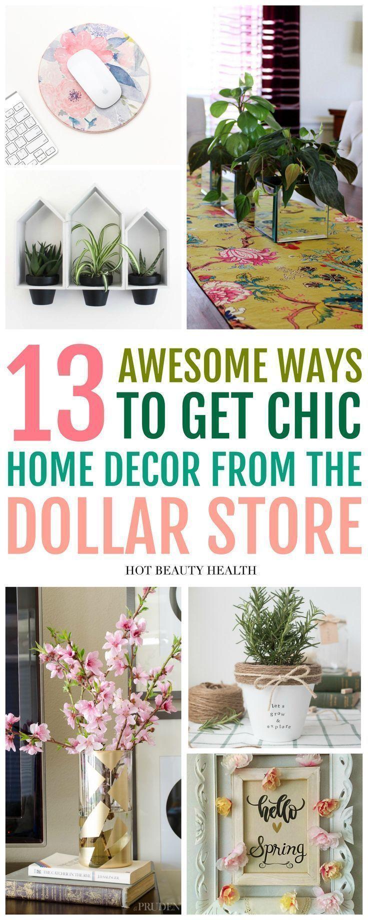 13 Dollar Store Home Decor Ideas You'll Love