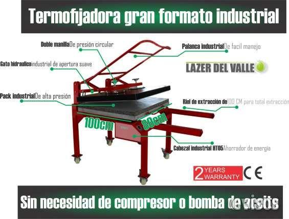 Termo fijadora  de 100x80 industrial en pasto Nueva termofijadora  LVT 100 X 80, semiautomatica, industr .. http://san-juan-de-pasto.evisos.com.co/termo-fijadora-de-100x80-industrial-en-pasto-id-444414